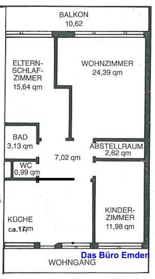 immobilien emden und ostfriesland sehr sch ne gro e 3 zimmer wohnung in emden zu vermieten. Black Bedroom Furniture Sets. Home Design Ideas